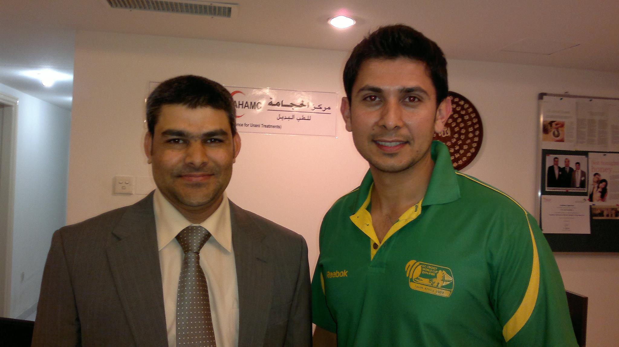UAE cricket Player, Qasim Zubair